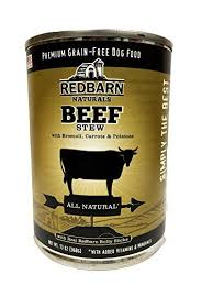 Red Barn Dog Food Wet