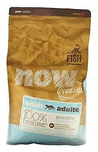 NOW Adult Cat Fish Formula