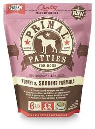 Primal Patties Frozen Food
