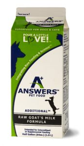 Answers Milk
